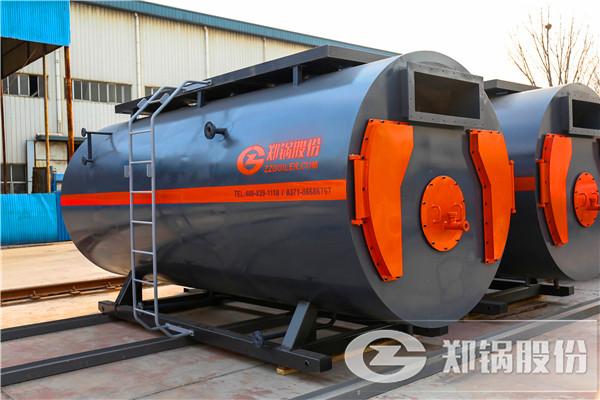 卧式三回程10吨燃气锅炉