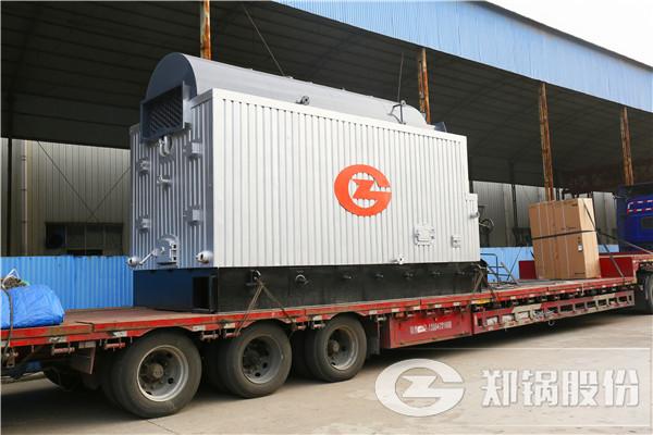 新型10吨冷凝三回程全自动燃气锅炉