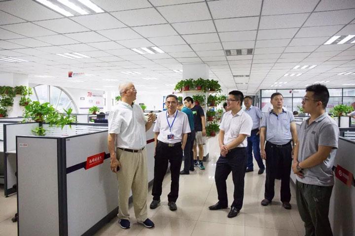2018锅炉智能制造、工艺与装备发展研讨会参会人员来郑锅参观 图2