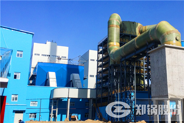 75吨DHX循环流化床锅炉