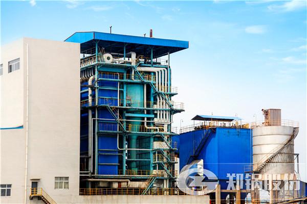 75吨3.82MPA循环流化床锅炉化工厂发电站项目案例