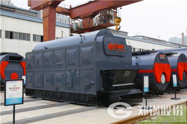 蒸汽锅炉桑拿蒸汽游泳馆供暖燃煤链条锅炉