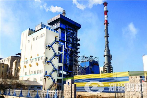 河北东光150吨循环流化床锅炉
