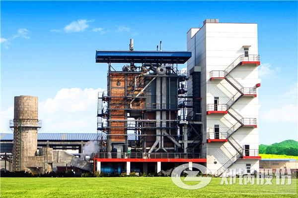 四川自贡55吨流化床锅炉实景