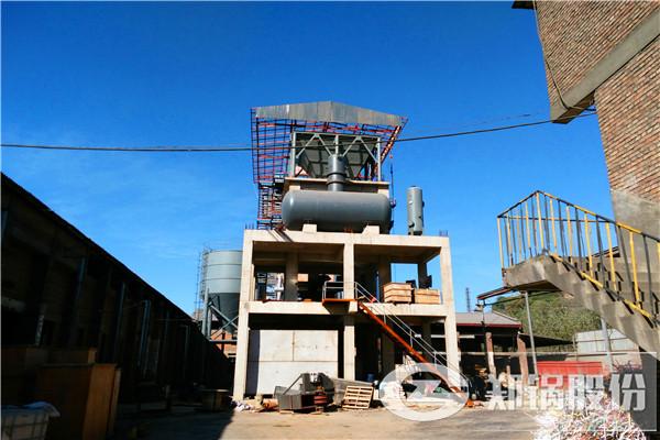 河北兴龙35吨循环流化床电站锅炉项目