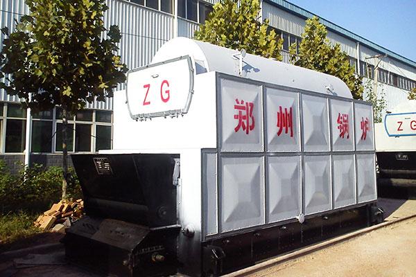 江苏南京10吨燃生物质热水锅炉