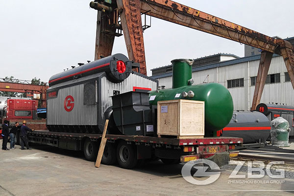10 Tons ASME Gas Boiler Are Exported to Peru 1.jpg