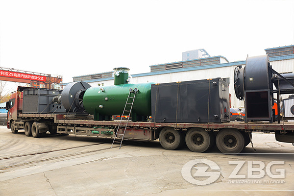 25 Tons Chain Grate Boiler Shipped to Australia 5.jpg