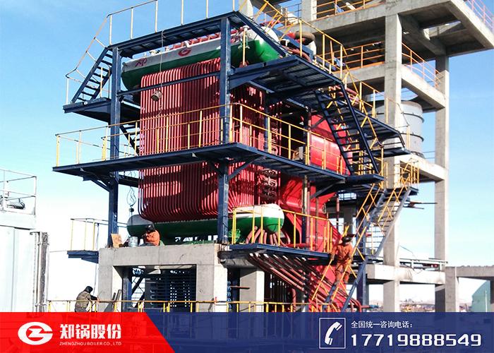 造纸厂采用循环流化床锅炉供汽生产
