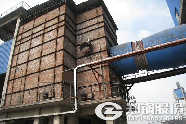 压力3.82MPa的35吨中温中压循环流化床锅炉