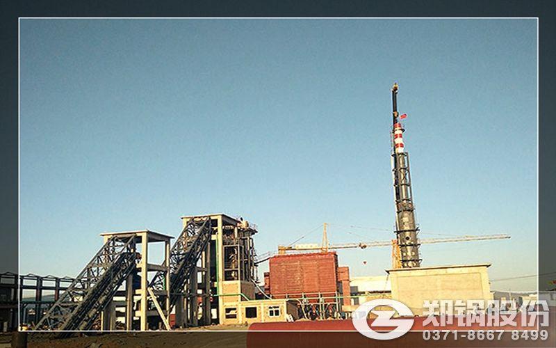 石家庄100吨循环流化床热水锅炉价格和安装价格,压力25公斤