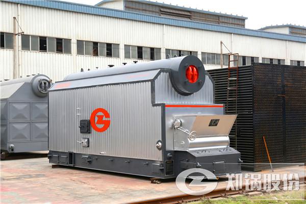 4吨燃煤生物质热水锅炉